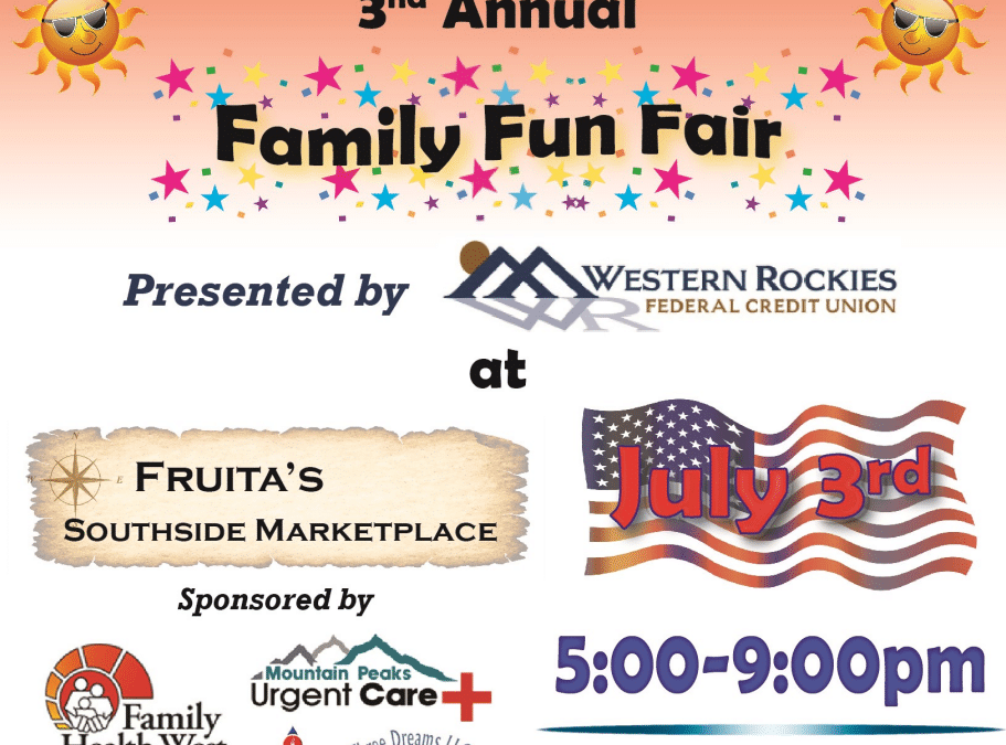 3rd Annual Southside Marketplace FREE Family Fun Fair July 3rd