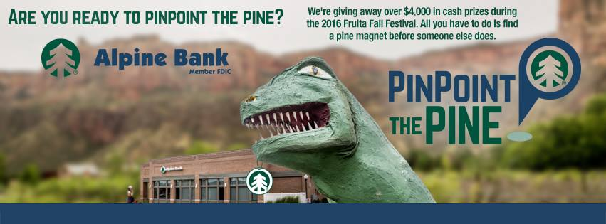 Alpine Bank Giving Away $4 Thousand Dollars in Cash and Prizes at Fruita Fall Festival 2016